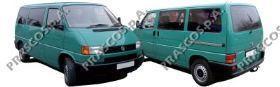 VW9137513 Стекло зеркала правое / VW T4 96~