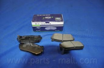 PKB008 Колодки тормозные KIA SPECTRA/CARENS 00-/CLARUS 96-01/SHUMA 95- задние