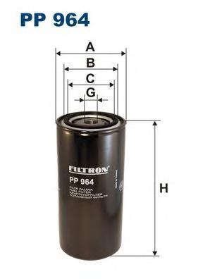 PP964 Фильтp топливный