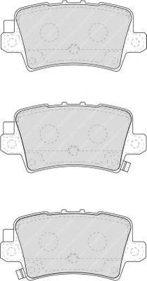 FDB1862 Колодки тормозные HONDA CIVIC VIII Hatchback 06- задние