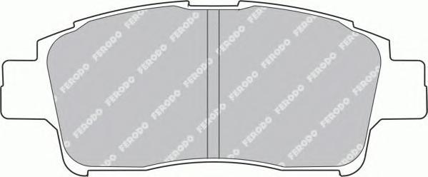 FDB1368 Колодки тормозные TOYOTA YARIS 1.0-1.3 передние