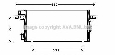 DN5269 Конденсер NISSAN PATHFINDER 3.5 01-06