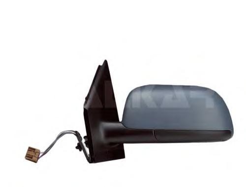 6139110 Зеркало в сборе с электрорегулировкой левое, грунтованное / VW Polo 02~05