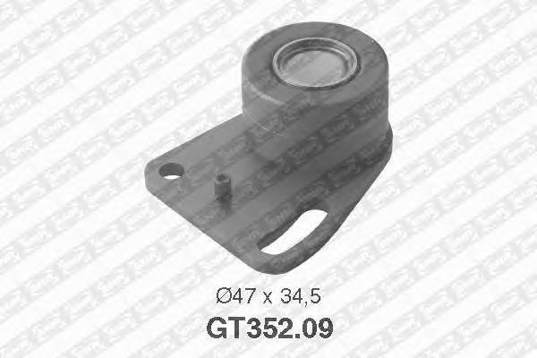 GT35209 Ролик ремня ГРМ SCORPIO/TRANSIT/SIERRA 2.0 77-93