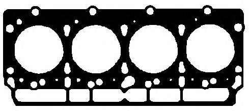 646440 Прокладка ГБЦ Ford Transit 2.5D d=95mm 84