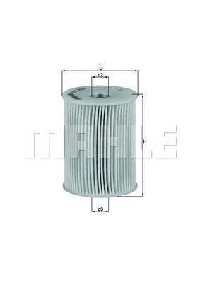 KX231D Фильтр топливный OPEL ASTRA H/OMEGA B/MERIVA 1.7D/2.2D