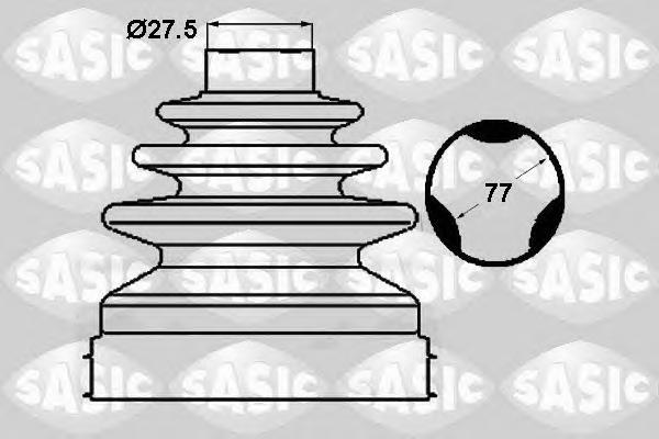 1904039 Пыльник ШРУСа RENAULT MASTER III/FIAT DUCATO/PEUGEOT BOXER 2.2D 06 внутр.