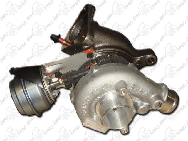 1117400300 Турбина / AUDI A-4, 6;SKODA Superb;VW Passat-V 1,9/2,0 TDI 95~