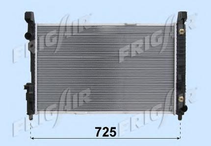 01063101 Радиатор, охлаждение двигателя