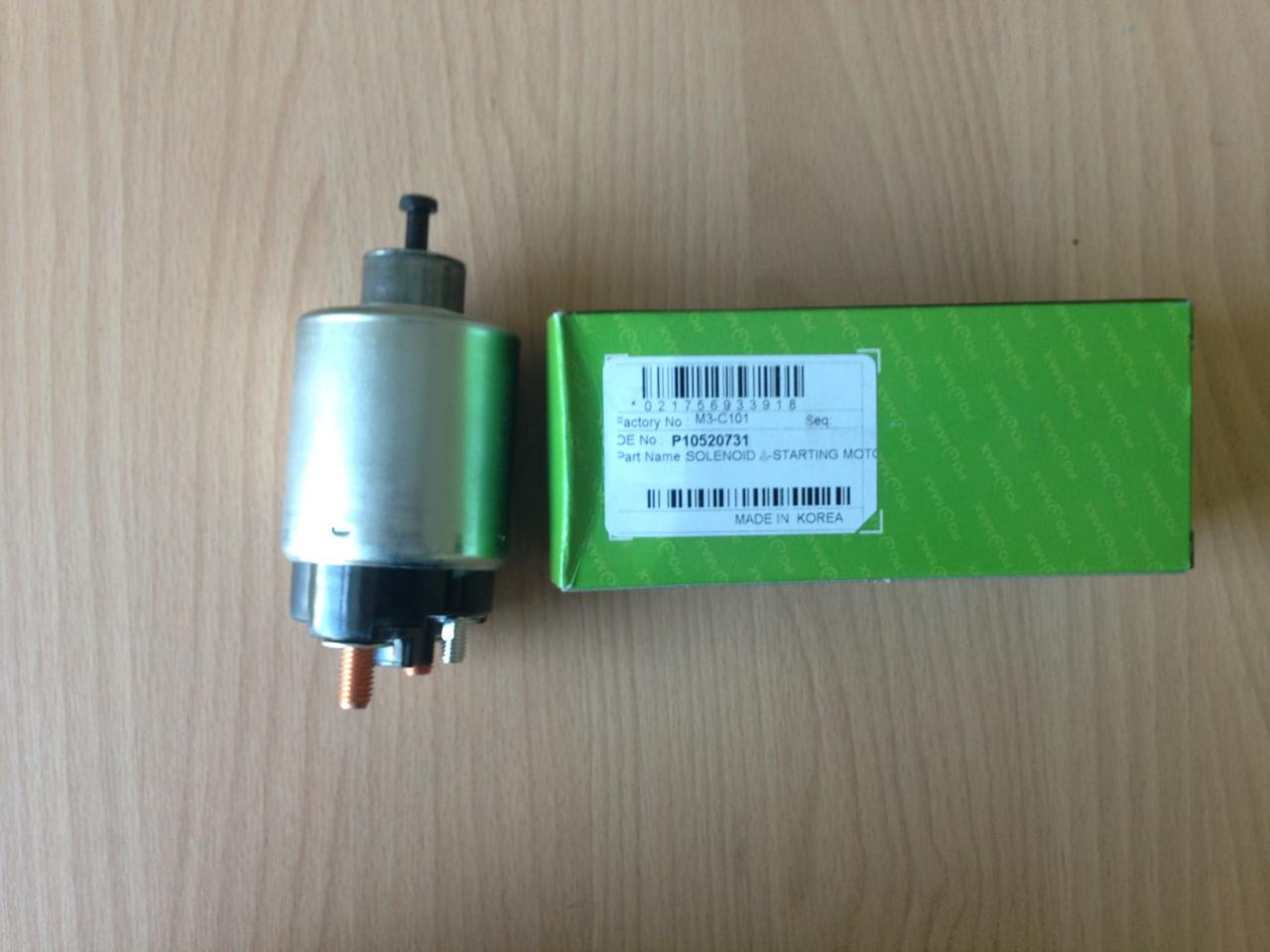 M3C101 Реле втягивающее CHEVROLET AVEO/LACETTI/CAPTIVA 1.4KW