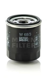 W683 Фильтр масляный TOYOTA AVENSIS/COROLLA/CARINA/CAMRY/YARIS/RAV 4
