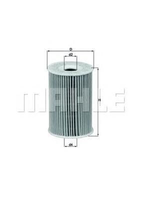 OX1351D Фильтр масляный MB W168/VANEO (414) 1.4/1.6/1.9 97-