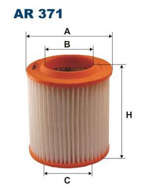 AR371 Фильтр воздушный AUDI A8 3.0-4.2 03-