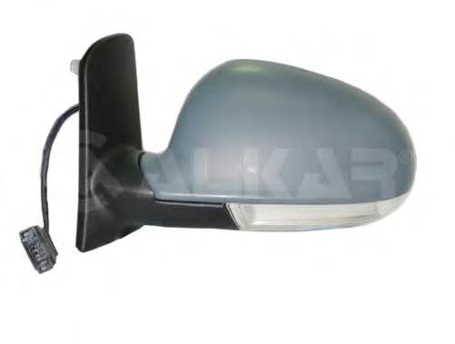 6139801 Зеркало в сборе с электрорегулировкой левое, грунтованное / VW Sharan 04~