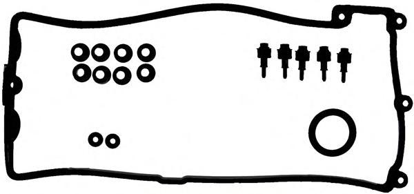 153733201 Прокладка клапанной крышки BMW E65 4.4i V8 N62B44 01 5/8cyl