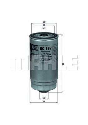 KC199 Фильтp топливный