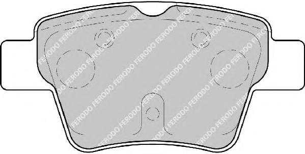 FDB1784 Колодки тормозные CITROEN C4 04-/PEUGEOT 207 06-/307 00- задние торм.сист.BOSCH