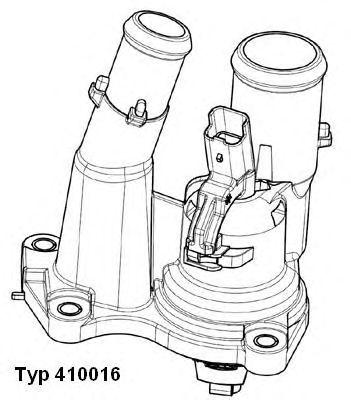 41001698d Термостат, охлаждающая жидкость