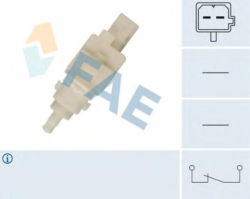 24411 Выключатель стоп-сигнала Fiat, PSA