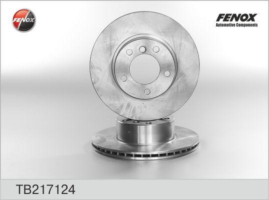 TB217124 Диск тормозной BMW E39 520-535 95-04 передний вентилируемый