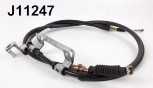 J11247 Трос ручного тормаза MAZDA 626 92-97 левый