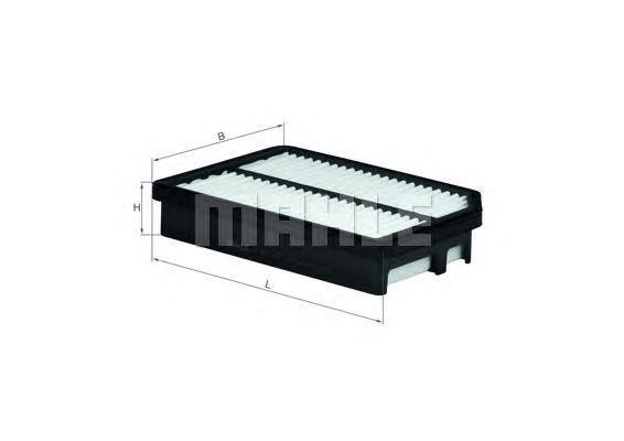 LX2890 Фильтр воздушный KIA: CERATO 1.6 06-