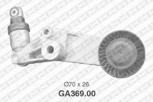 GA36900 Натяжитель ремня приводного TOYOTA AVENSIS/RAV 4/COROLLA 1.4-1.8