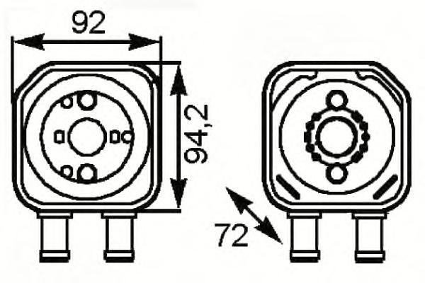 31179 Радиатор масляный VAG
