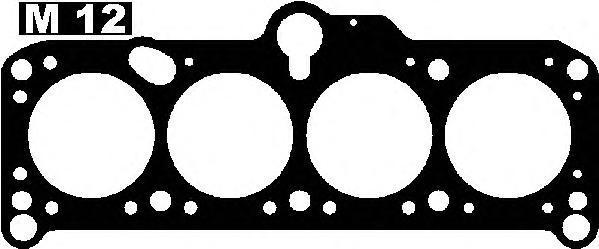 10030620 Прокладка ГБЦ AUDI: 80 1.6 D/1.6 TD 78-86  VW: CADDY I 1.6 D 79-92, GOLF I 1.6 D/1.6 TD 74-85, GOLF II 1.6 D/1.6 TD 83-