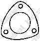 256041 Прокладка приемной трубы FIAT/VAG