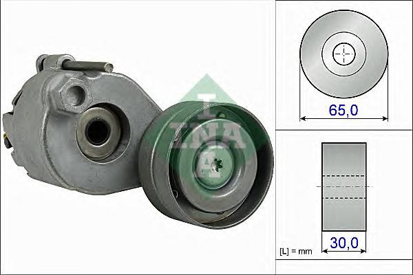 534051110 Ролик приводного ремня RENAULT MEGANE III 1.4TCe 16V H4J700 65x30x 09