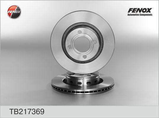 TB217369 Диск тормозной AUDI 80 1.6-2.6 91-96 передний вент.D=280мм.