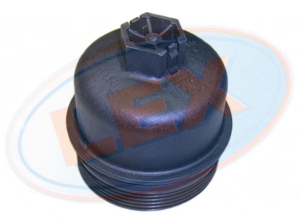 KM2257 Крышка корпуса масляного фильтра  Duratorq TDCI 2 0 - 2 2 - 2 4