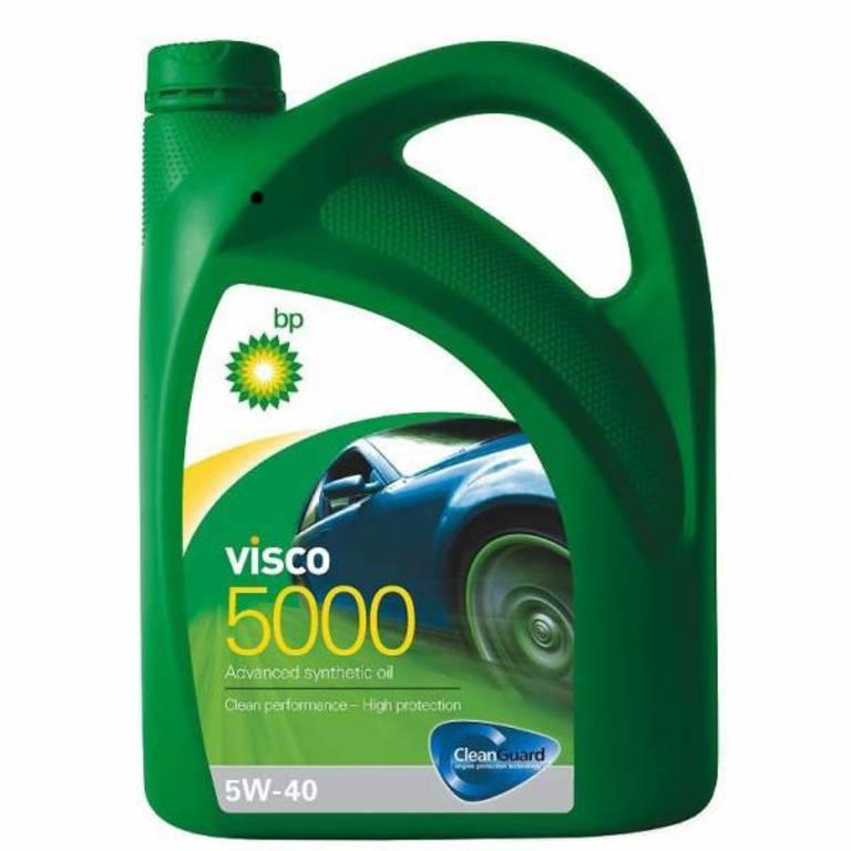 15806C Масло моторное 5W40 BP 4л синтетика Visco 5000