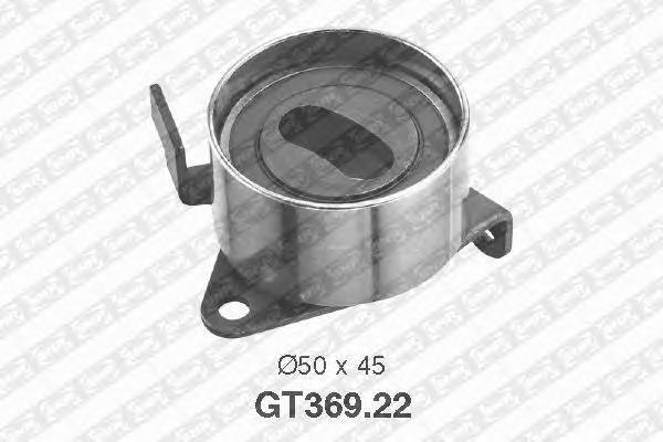 GT36922 Деталь GT369.22_pолик натяжной pемня ГPМ