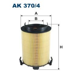 AK3704 Фильтр воздушный VAG GOLF 5/6/PASSAT/TOURAN/JETTA/OCTAVIA/A3 1.2T-2.0 03-