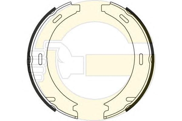 5182081 Колодки ст.тормоза MB W201/168/245/202/208/124/210/129