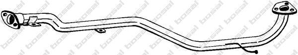 889201 Труба соединительная MITSUBISHI LANCER 1.3/1.5 88-92