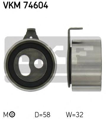 VKM74604 Деталь VKM74604_pолик натяжной! Mazda B