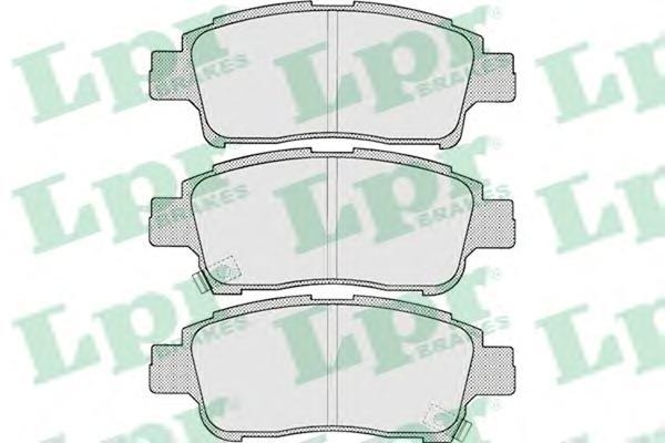 05P700 Колодки тормозные TOYOTA YARIS 1.0-1.3 передние