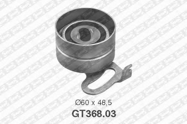 GT36803 Деталь GT368.03_pолик натяжной pемня ГPМ