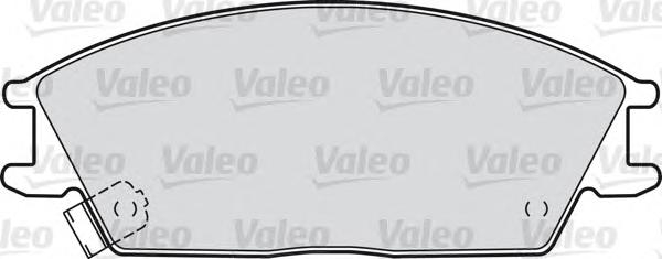 598052 Комплект тормозных колодок HONDA: Accord II (83&gt