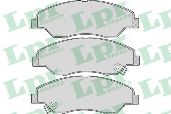 05P1053 Колодки тормозные KIA SPORTAGE 2.0 94-03 передние