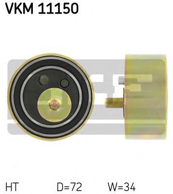 VKM11150 Ролик натяжной ремня ГРМ Audi A4/A6/A8 2.5TDi 97-02, VW Passat 2.5Tdi 08/98-02