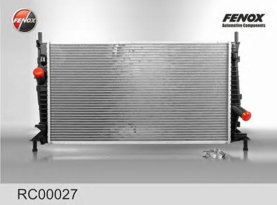 RC00027 Радиатор FORD FOCUS 1.4-1.8/2.0TD 04-