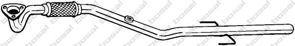 878375 Труба приемная OPEL VECTRA C 1.6/1.8 02-05