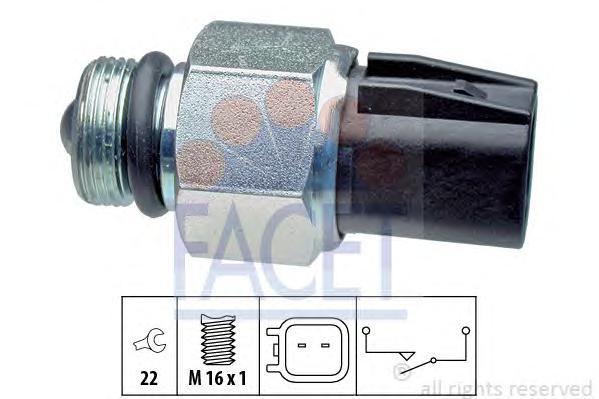 76267 Датчик заднего хода FORD: C-MAX 1.8 Flexifuel/1.8 TDCi/2.0 TDCi 07-, FOCUS C-MAX 1.6/1.6 TDCi/1.6 Ti/1.8/1.8 Flexifuel/1.8
