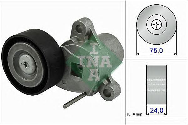 534050710 Натяжитель ремня приводного FORD FOCUS/C-MAX 1.0 12-