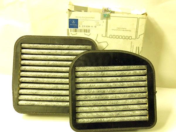 A2108301118 Фильтp салонный угольный, к-т.
