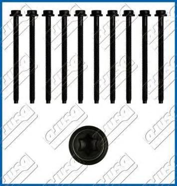 81017400 Комплект болтов ГБЦ FORD: C-MAX 1.6 07-, C-MAX II 1.6 LPG 10-, COURIER пикап 1.4 88-99, FIESTA IV 1.25 i 16V/1.4 i 16V/